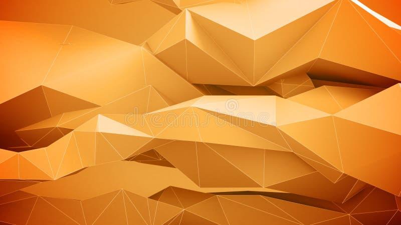 Formas geométricas abstratas ilustração stock