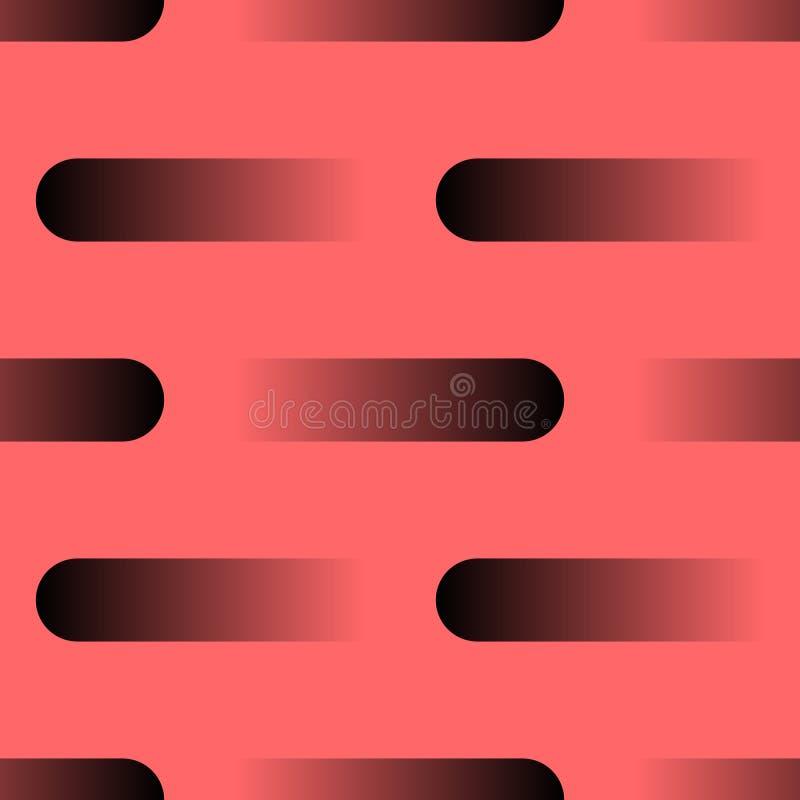 Formas geométricas do fundo liso do sumário para o projeto da cópia do quadro Projeto liso da ilustra??o do vetor Linha projeto P ilustração stock