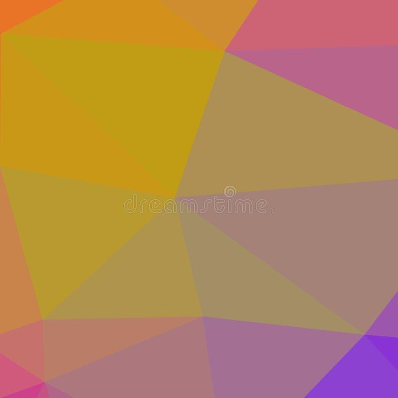 Formas geométricas quebradas polígono Textura coloreada extracto de formas geométricas El fondo decorativo se puede utilizar para libre illustration