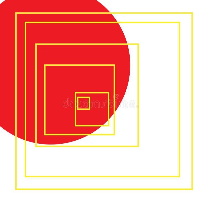 Formas que vienen junto - 85 ilustración del vector