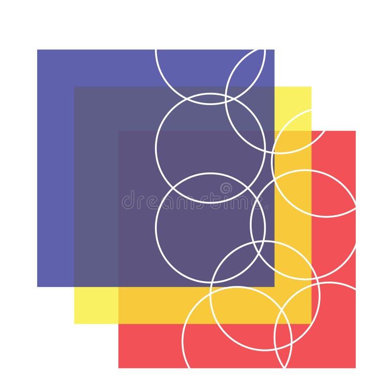 Formas que vienen junto - 89 ilustración del vector