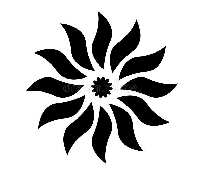 formatet för blomman för designeps-mappen inkluderar royaltyfria bilder
