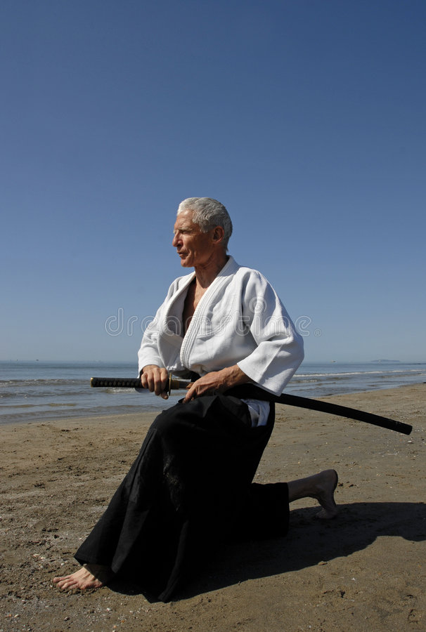 Formation d'Aikido photographie stock