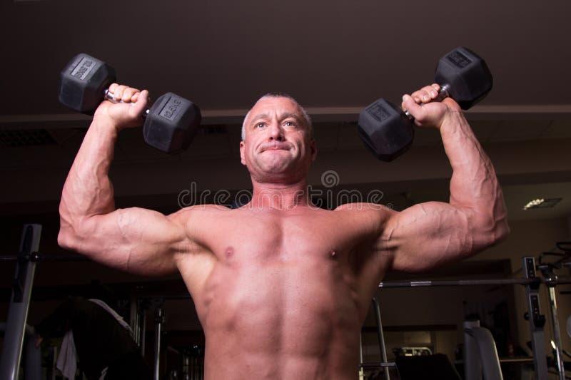 Formation de Bodybuilder photos libres de droits