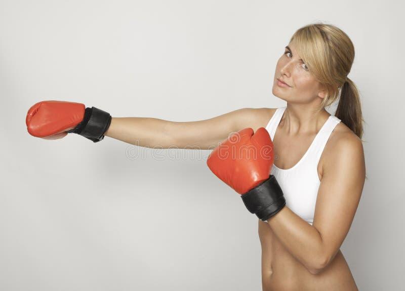 Formation de boxe images libres de droits