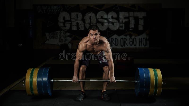 Formation de CrossFit image stock