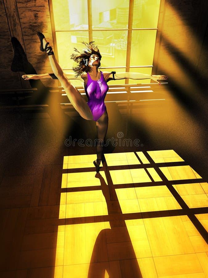 Formation de danse illustration stock