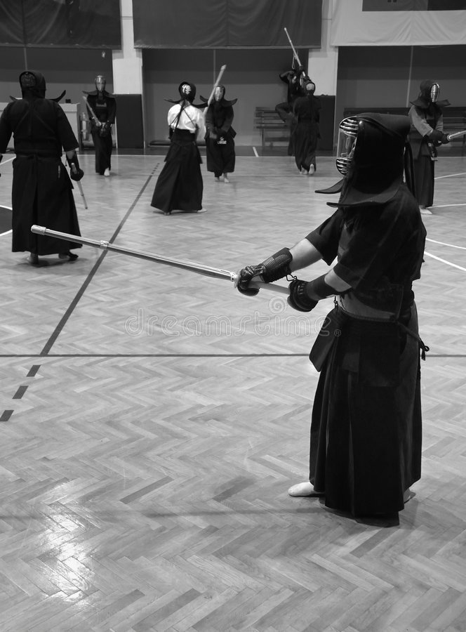 formation de kendo photos stock