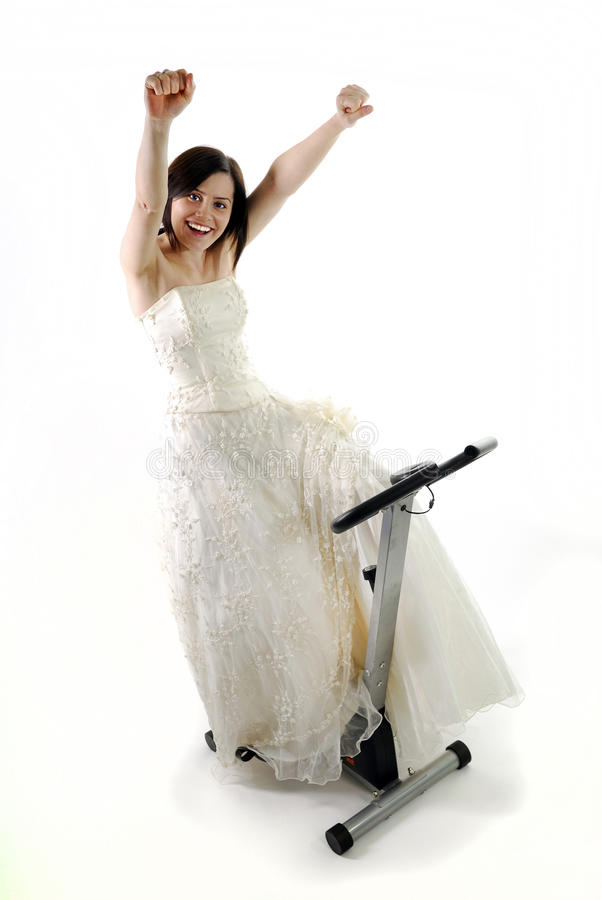 Formation de mariée images libres de droits