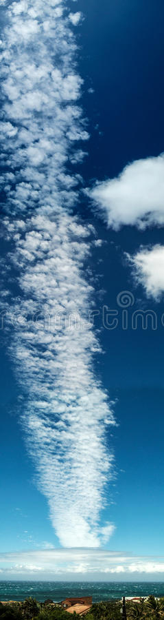 Formation de nuage images stock