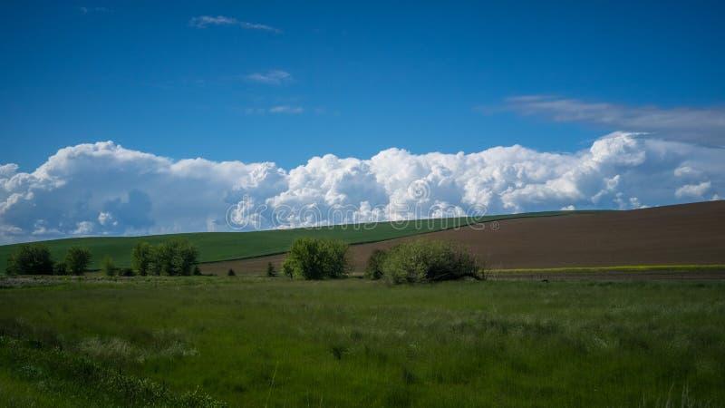 Formation de nuage dans le Palouse images stock