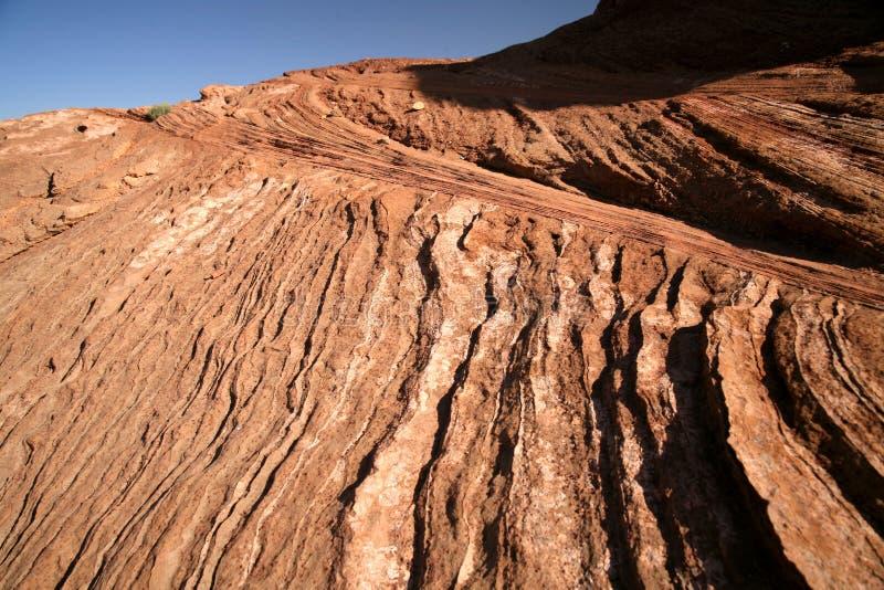 Formation de roche à la courbure en fer à cheval en Utah, Etats-Unis photo stock
