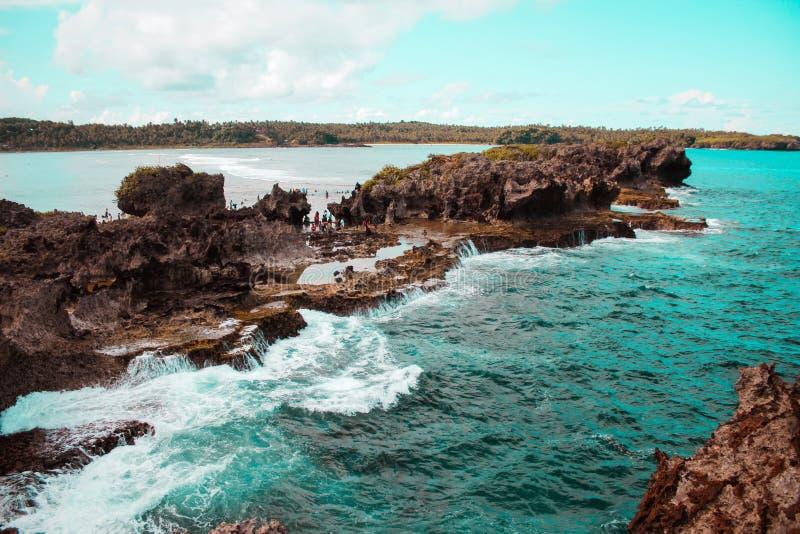 Formation de roche étonnante dans Canhugas photo stock