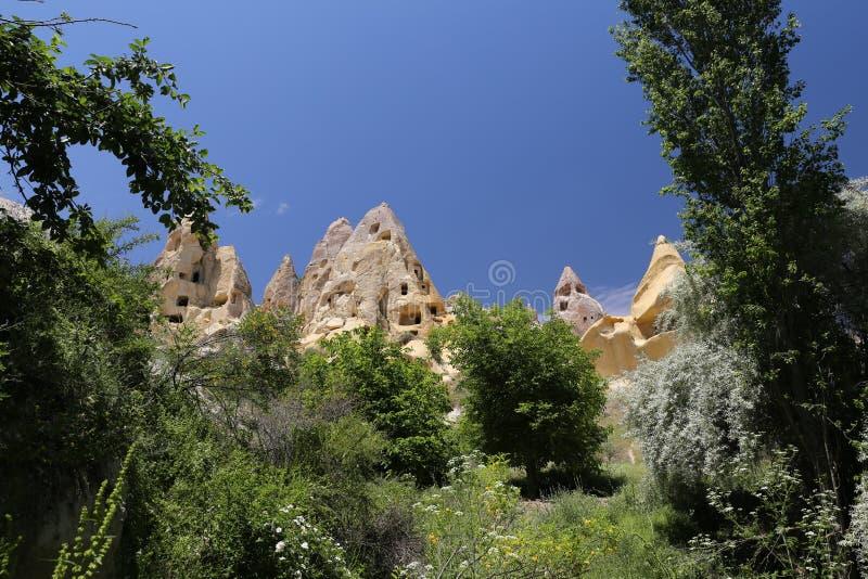 Formation de roche dans Cappadocia photographie stock libre de droits