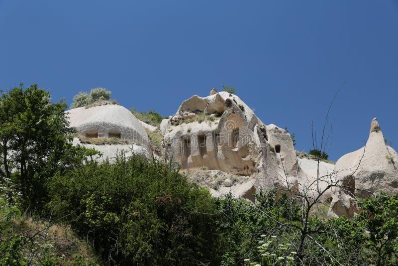 Formation de roche dans Cappadocia images stock