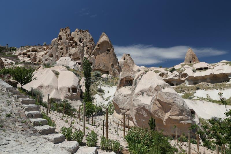 Formation de roche dans Cappadocia photos libres de droits