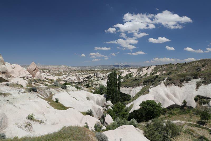 Formation de roche dans Cappadocia image libre de droits