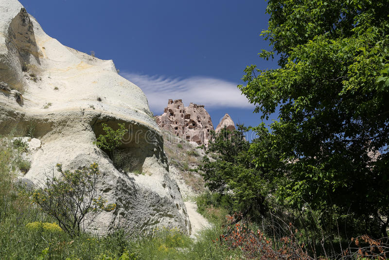 Formation de roche dans Cappadocia photographie stock