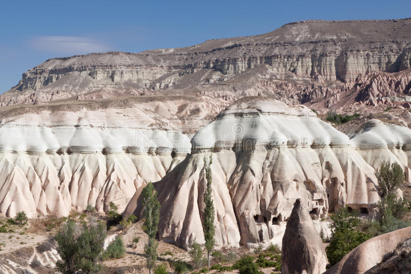 Formation de roche dans Goreme photo libre de droits