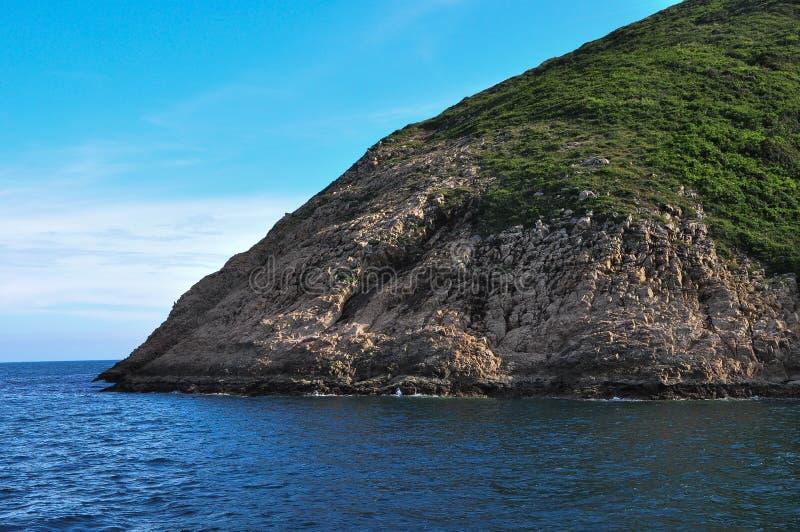 Formation de roche en Sai Kung, Hong Kong photo libre de droits