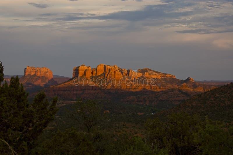 Formation de roche rouge dans Sedona, Arizona. images libres de droits