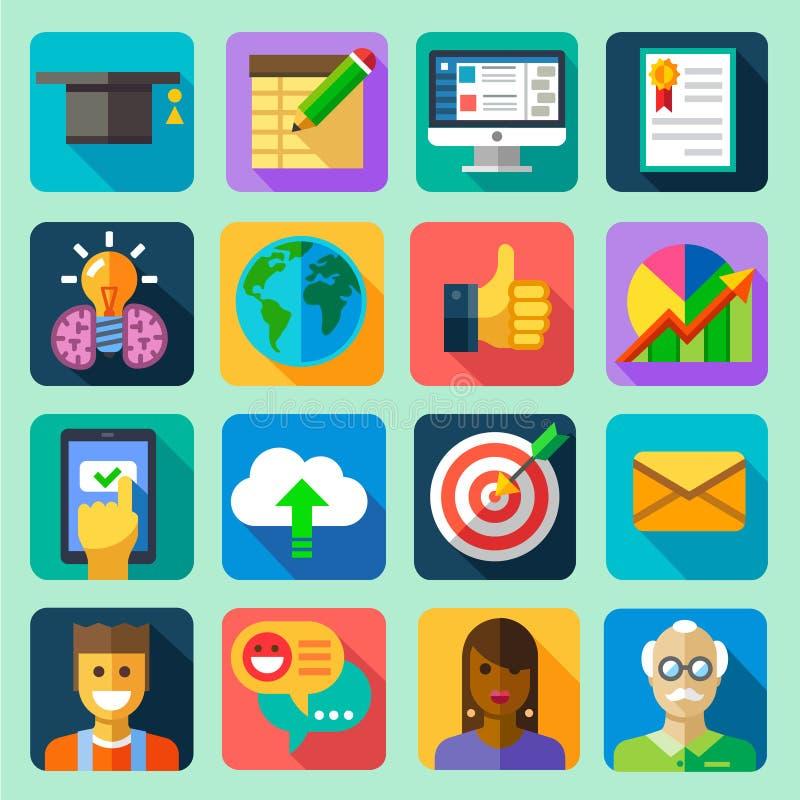 Formation en ligne illustration stock