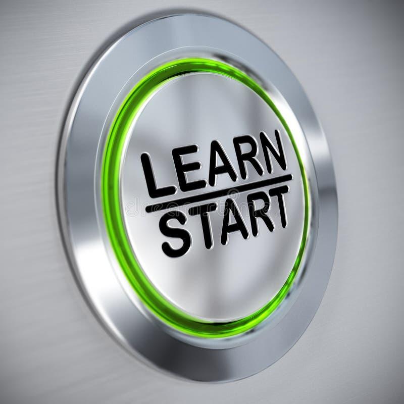 Formation en ligne, concept d'apprentissage sur internet illustration stock