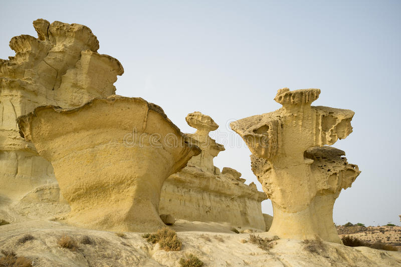 Formation géologique photographie stock libre de droits