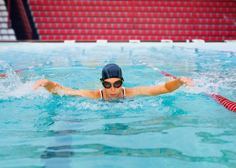 Formation pour des Jeux Olympiques photos libres de droits