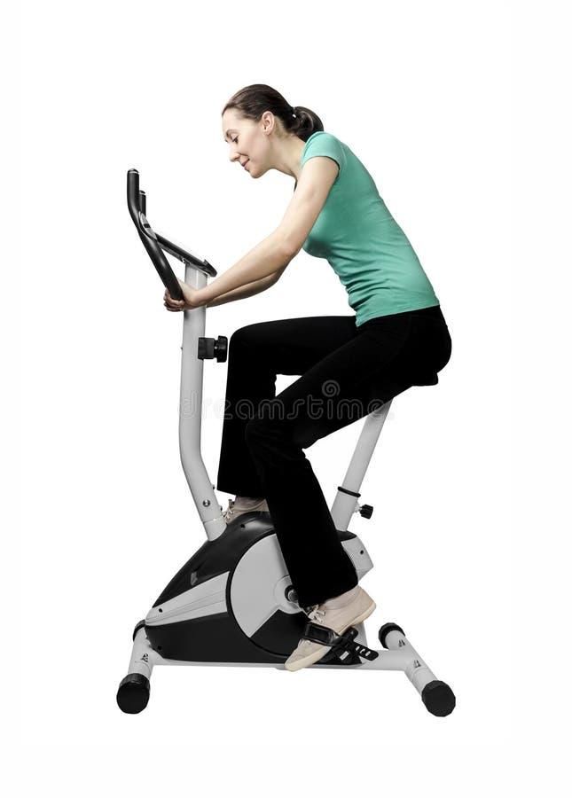 Formation sur le programme test de vélo photo stock