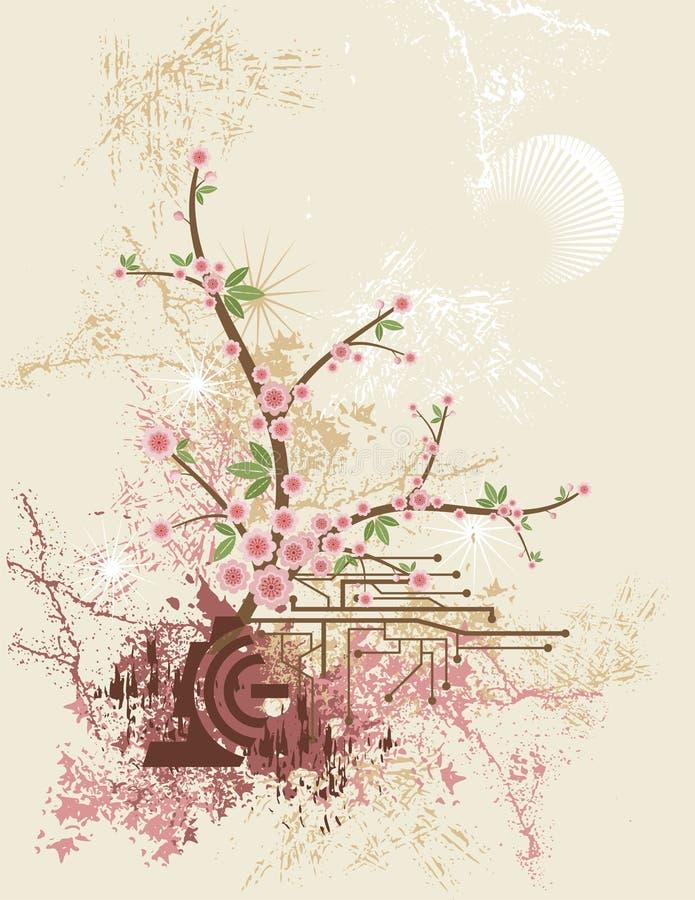 Formation technique florale illustration libre de droits