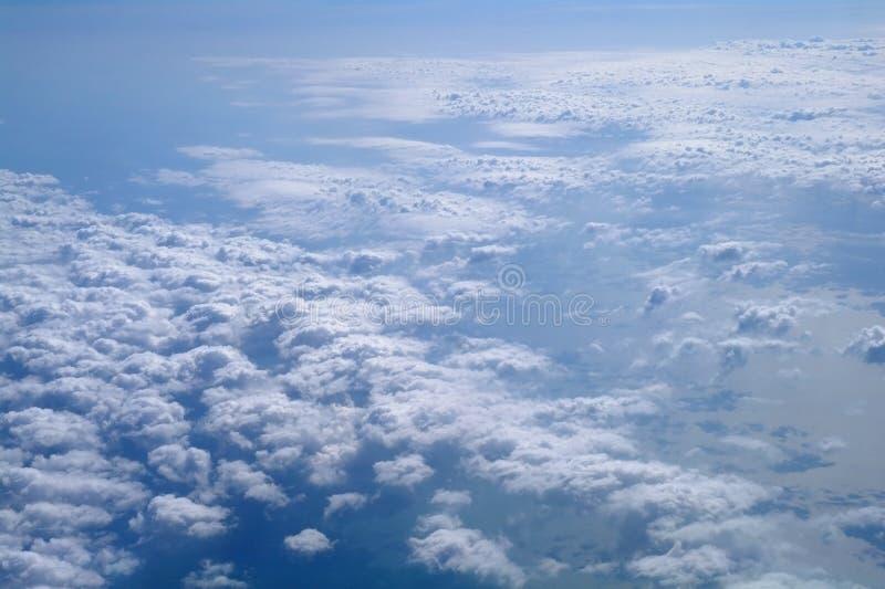 Formations de nuage. image stock