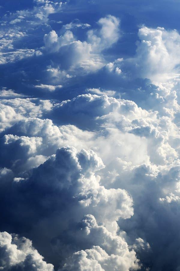 Formations de nuage photographie stock libre de droits