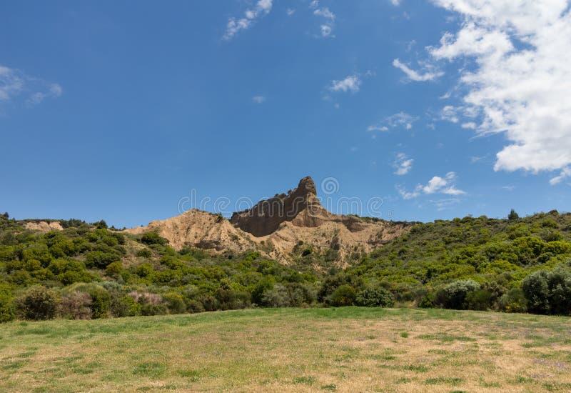 Formations de roche à la crique d'Anzac photo libre de droits