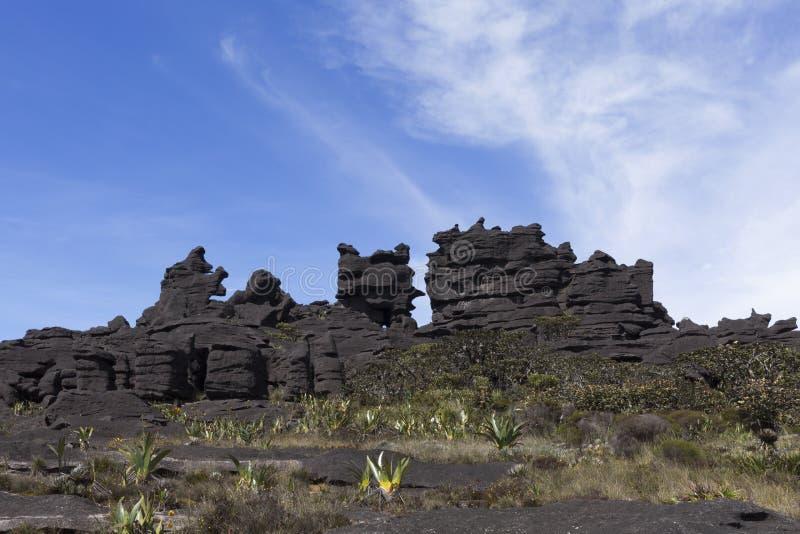 Formations de roche image libre de droits