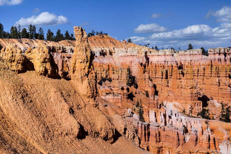 Formations de roche chez Bryce Canyon National Park, Etats-Unis photo stock