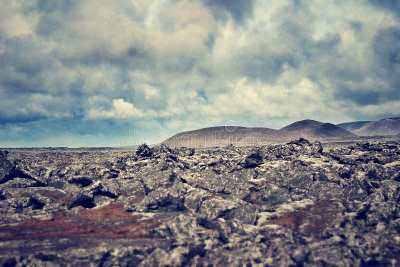 Formations de roche en Islande photos stock