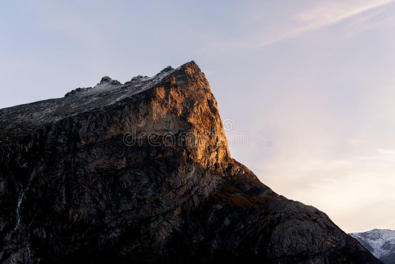 Formations de roche rares image libre de droits