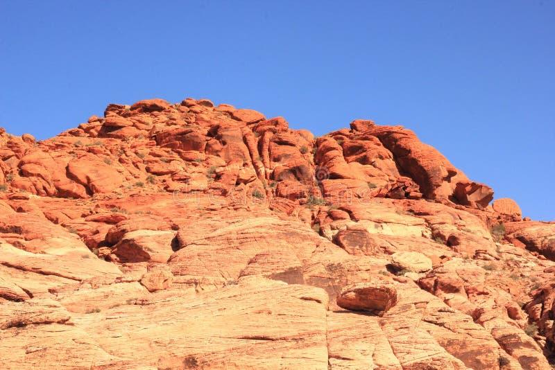 Formations de roche rouges de parc national de roche photos libres de droits