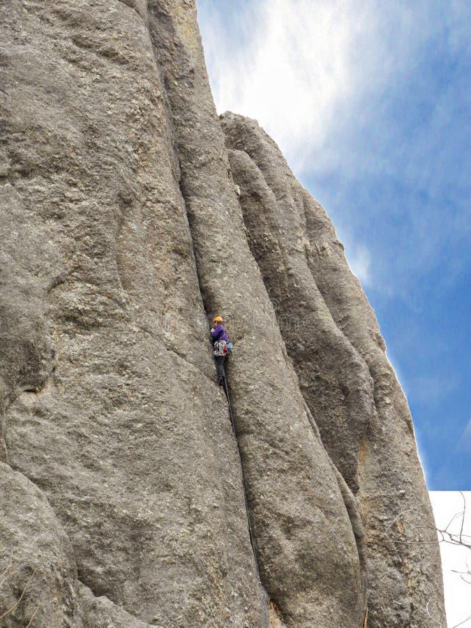 Formations de roche, route d'aiguilles, le Dakota du Sud photographie stock libre de droits