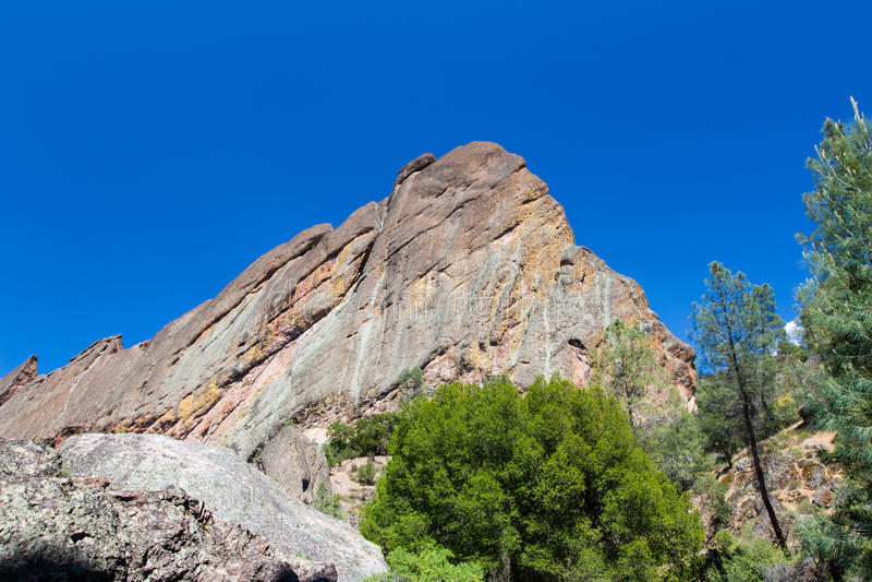 Formations de roche spectaculaires au parc national de sommets photos libres de droits