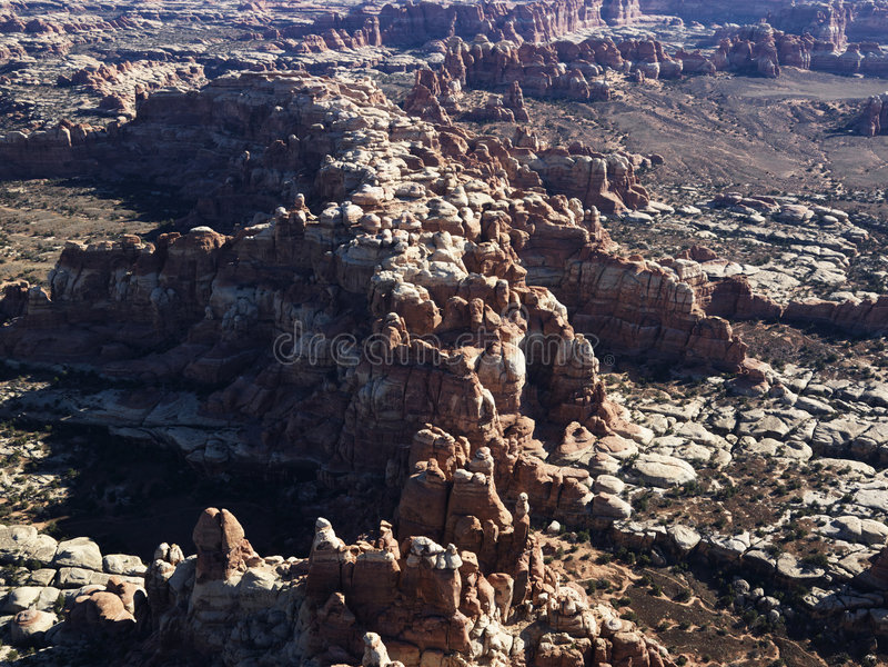 Formations de roche, Utah. photos stock