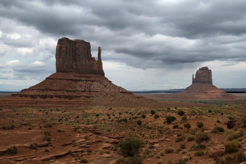 Formations de vallée de monument photo stock