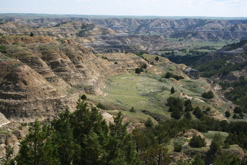 Download Formations, Theodore Roosevelt National Park Stock Images - Image: 5707894