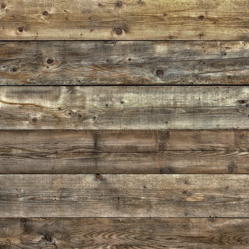 Formato cuadrado plano llevado descolorado de la textura del fondo de madera de pino foto de archivo libre de regalías