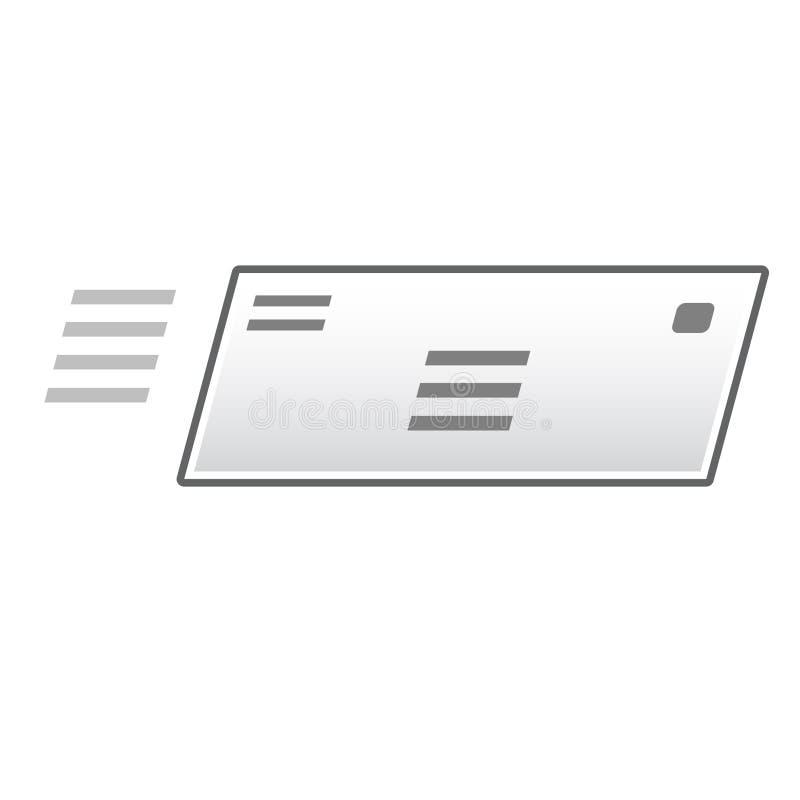 Formato di vettore dell'icona della busta fotografie stock libere da diritti