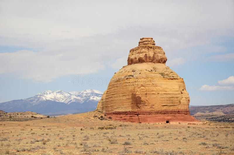 Formazione dell'arenaria della roccia della chiesa fotografie stock libere da diritti