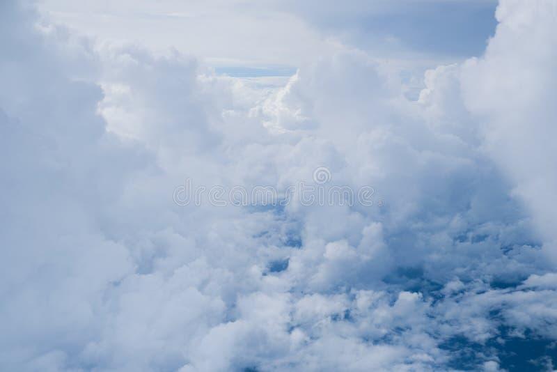 Formazione della nuvola fotografia stock