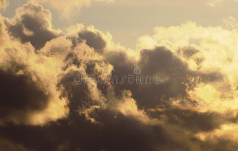 Formazione della tempesta fotografia stock