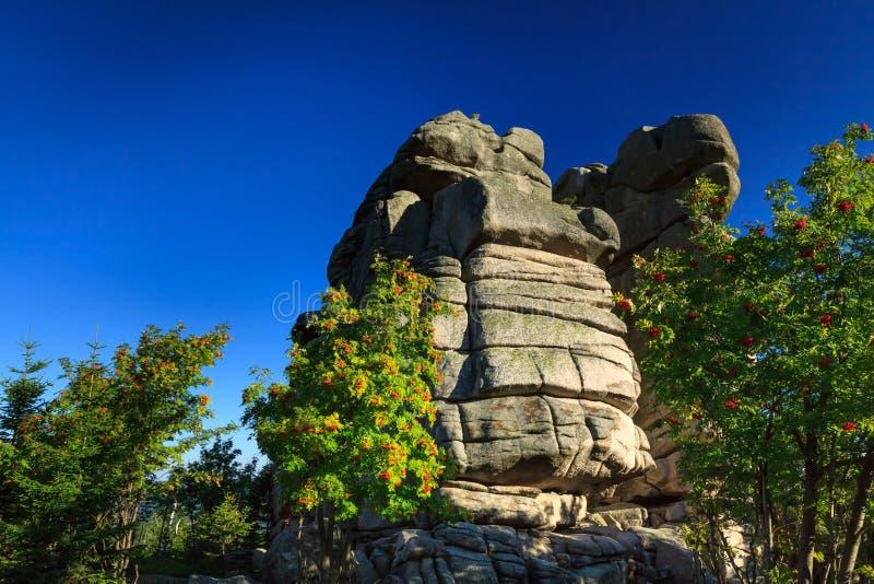 Formazione rocciosa fotografia stock